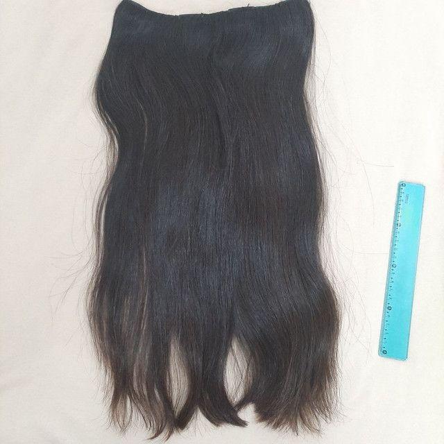 Mega hair - uso com tic tac ou costurado - Foto 4