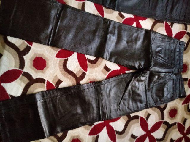 Calças de couro - Foto 3