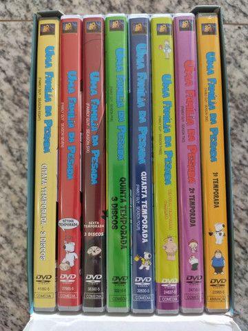 Box Uma Família Da Pesada - Family Guy (temporadas 1 A 8) - Foto 2