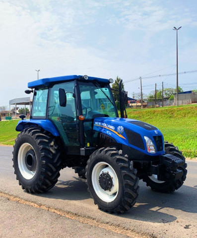 Trator New Holland tl75<br>-2015