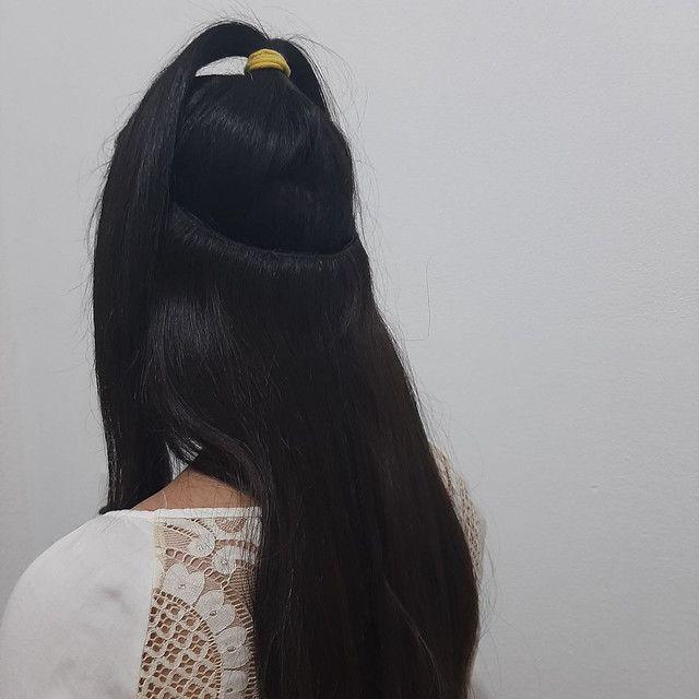 Mega hair - uso com tic tac ou costurado - Foto 3