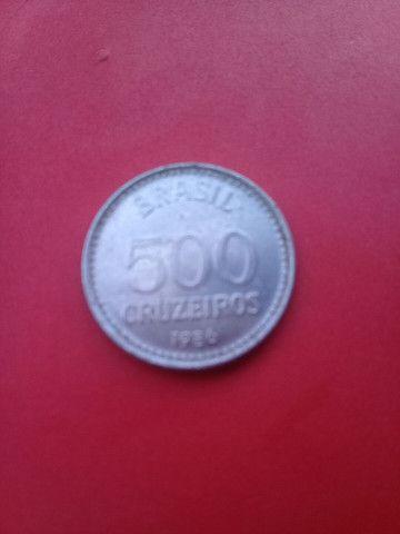 Moeta antiga de 50 Cruzeiros