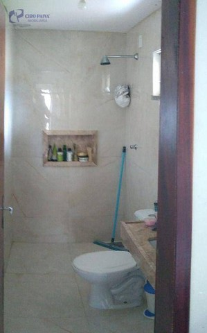 Casa com 2 dormitórios para alugar, 59 m² por R$ 1.000,00/mês - Centro - Eusébio/CE - Foto 9