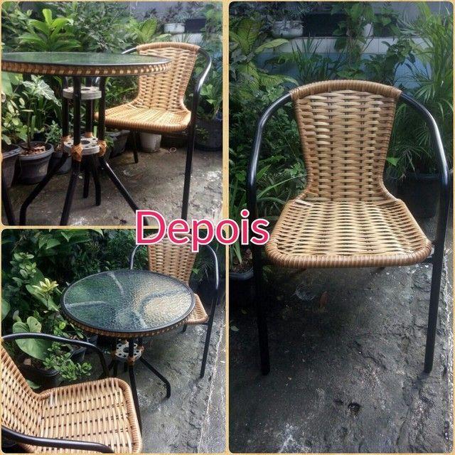 Cadeira de fibra ( reforma ) - Foto 4