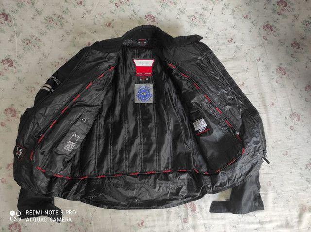 Casaco motociclista Shox Proteção tamanho G. Usado duas vezes apenas.