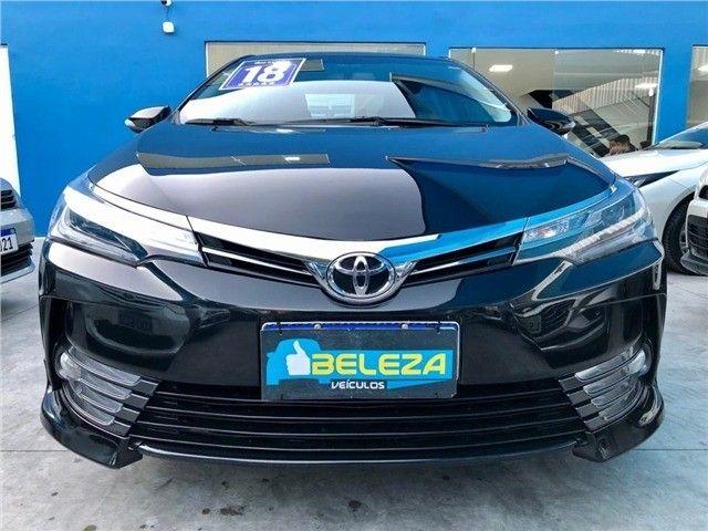 Toyota Corolla Xrs 2018, 53 mil km rodados, único dono, pronta entrega.