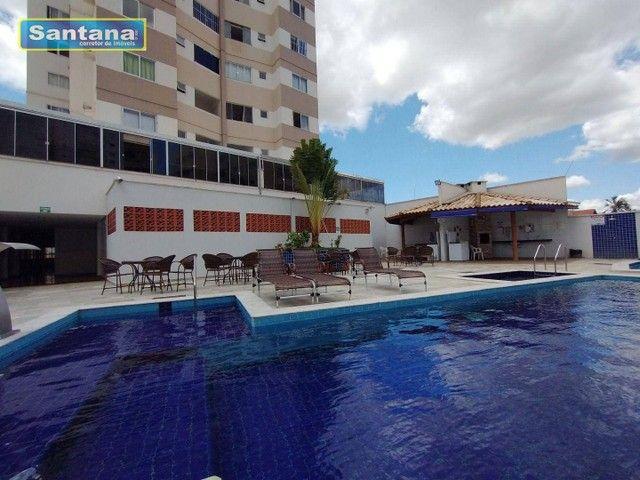 Apartamento com 3 dormitórios à venda, 85 m² por R$ 330.000,00 - Centro - Caldas Novas/GO - Foto 4