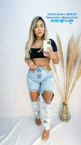 Short e calças modelos novos - Foto 4