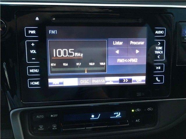 Toyota Corolla Xrs 2018, 53 mil km rodados, único dono, pronta entrega. - Foto 11