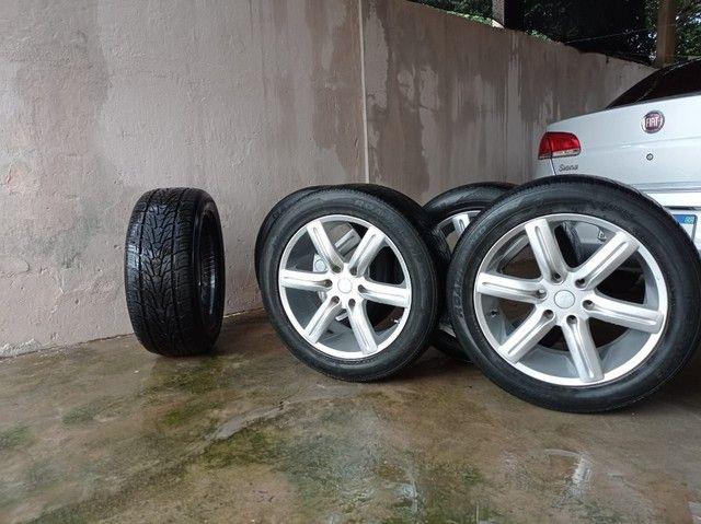 Rodas e pneus 265/50 aro 20 - Foto 3