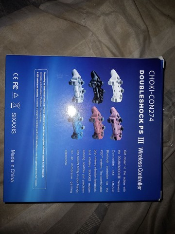 Controle de PS3  - Foto 2