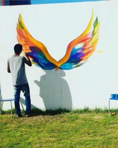 Tenha seu painel feito por um artista Paraibano - Foto 2