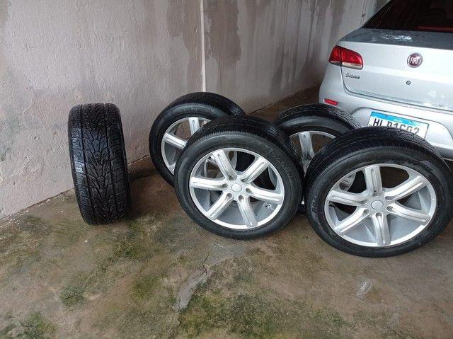 Rodas e pneus 265/50 aro 20