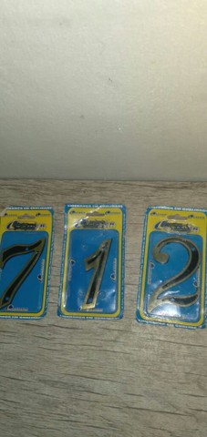 Vendo números de metal  - Foto 4