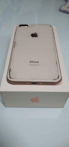 iphone 8 plus rose gold - Foto 5