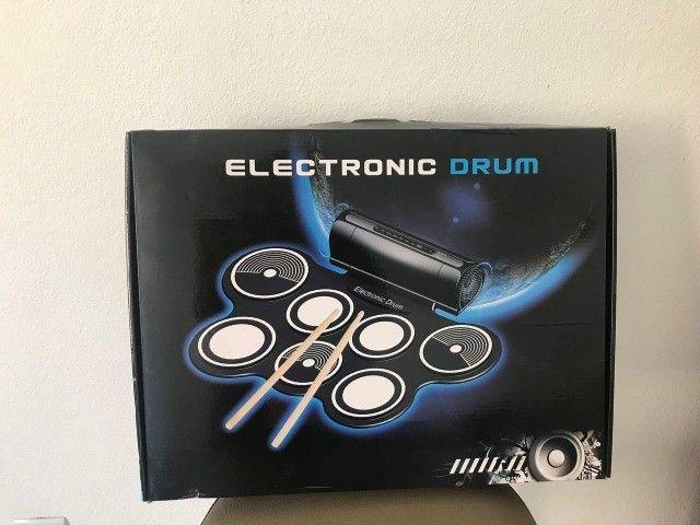 Bateria Eletrônica Kit Completo  - Foto 3