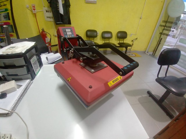 Máquina de estampa blusa - Foto 2
