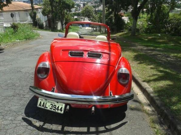 Vw - Volkswagen Fusca Cabriolet - Foto 3