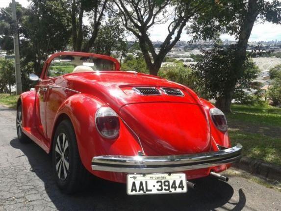 Vw - Volkswagen Fusca Cabriolet - Foto 6