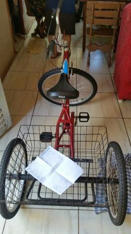 Bicicleta triciculo por 600,00
