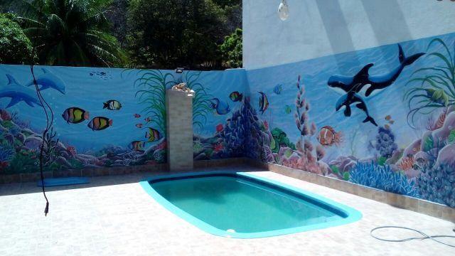 Vende-se Casas de praia com piscina área de lazer em condomínio na Barra de Santo Antônio