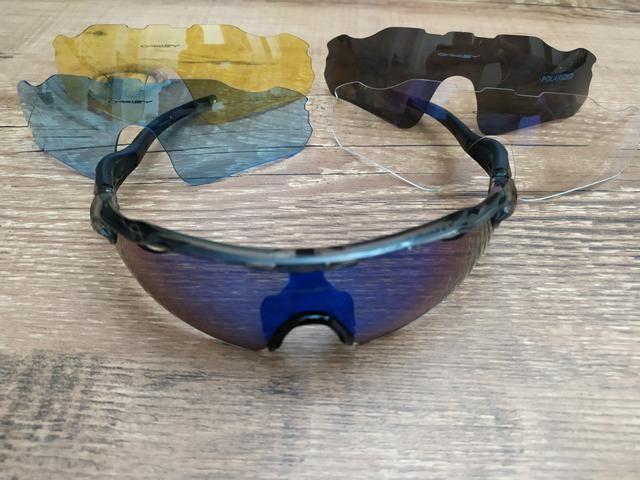 2330d874c Óculos Ciclismo Bike Oakley (réplica top) - Ciclismo - Lauro de ...