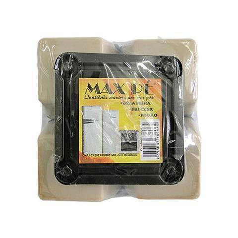 Kit Com 4 Pés Para Geladeira Freezer Fogão Com Rodinhas - Foto 2