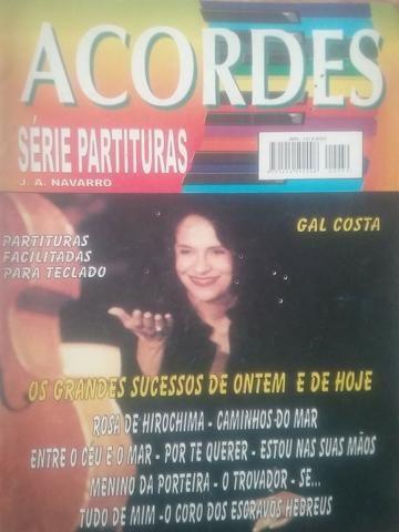 Revista Acordes - Séries Partituras