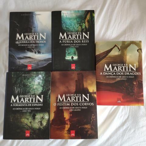 A Guerra dos tronos TODOS os livros - Game of Thrones