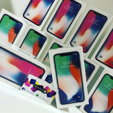 IPhone X 64Gb Lacrado/Garantia Apple + Case e película de brinde - Foto 3
