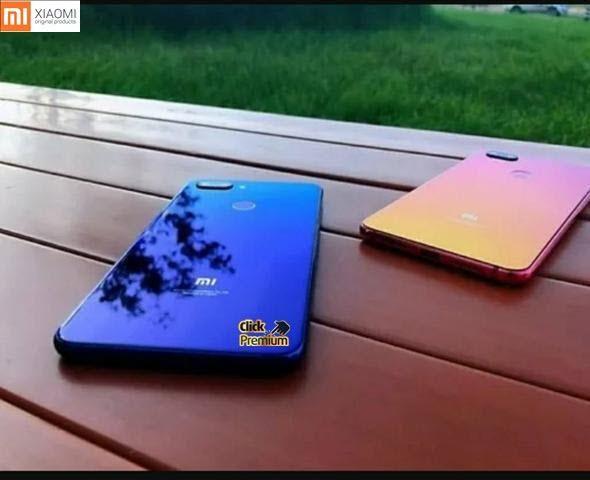 KIT Xiaomi Mi 8 Lite - 64 GB / 4 GB+ Fone + Capinha+ Película- 7 Brindes- Câmeras Iphone