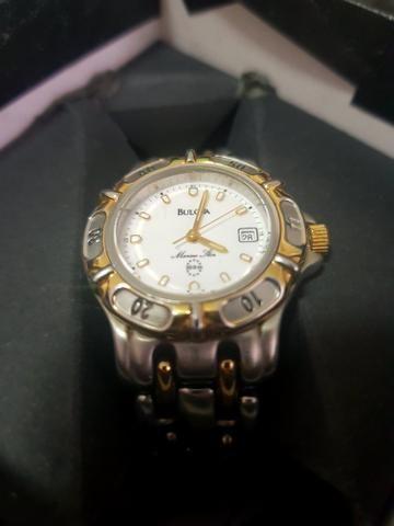 f479eefac8d Relógio Bulova Original banhado a ouro
