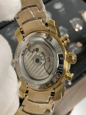 998d13fd9d7 Relógio Bvlgari Iron Man automático. até 10x sem juros - Bijouterias ...