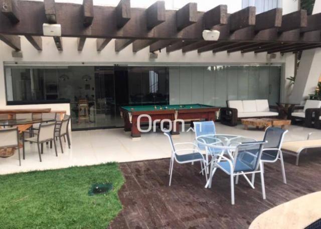 Sobrado à venda, 550 m² por R$ 5.898.000,00 - Alphaville Goiás - Goiânia/GO