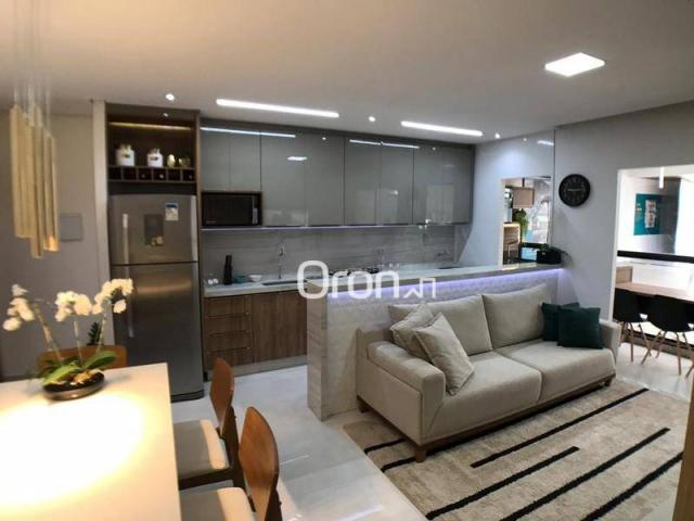 Apartamento com 2 dormitórios à venda, 59 m² por R$ 257.000,00 - Parque Amazônia - Goiânia - Foto 8
