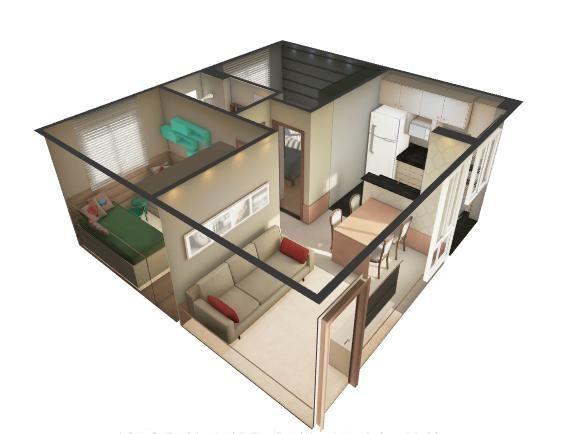 Residencial Jardim di Gênova - Apartamento 2 quartos em Jaraguá do Sul, SC - ID3895 - Foto 9