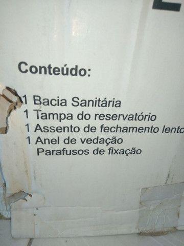 Vaso sanitário novo monobloco  - Foto 5