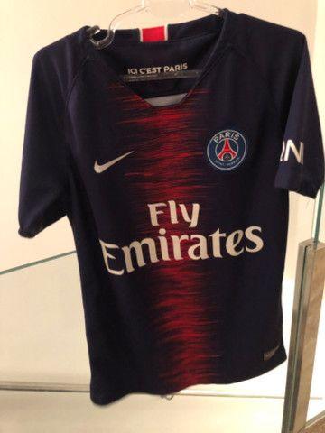 Camiseta infantil time PSG - Foto 4