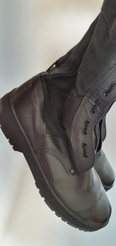 Coturno bota 43 seminova - zíper e cadarso - Foto 4