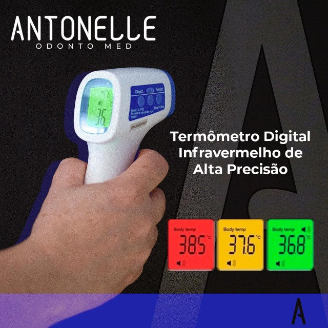 Termometro digital pulso ou testa - Foto 2