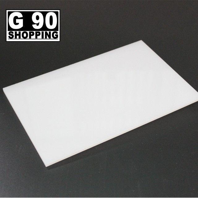 Acrílico Branco Leitoso - 2mm de espessura