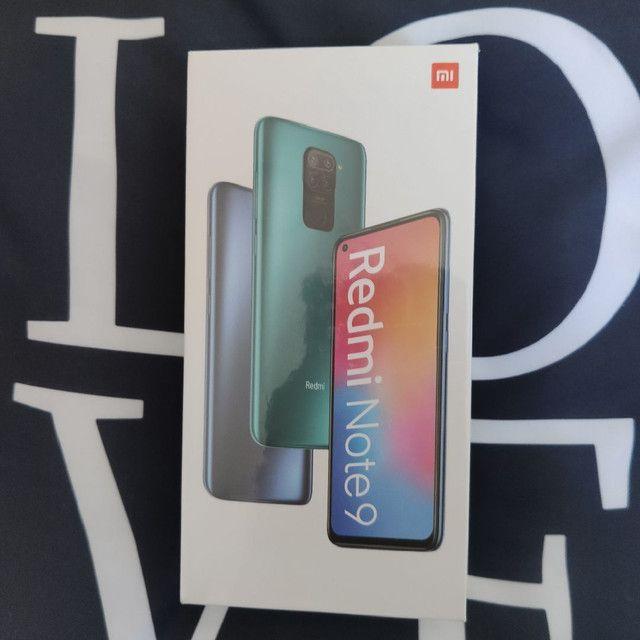 Entrego Hoje* Redmi Note 9 128 Xiaomi. novo