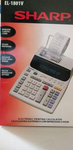 Calculadora de bobina Sharp 1801v-ORIGINAL.