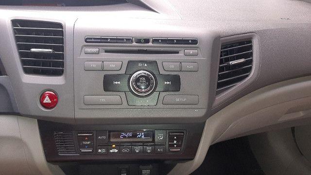 Civic LXR 2.0 autom, couro, borboleta, GNV 5ª ger, magnífico estado, vist 20 - Foto 8
