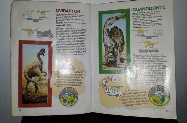 Álbum De Figurinhas Dinossauros Nestlé Surpresa - Completo com 30 figurinhas <br><br> - Foto 4
