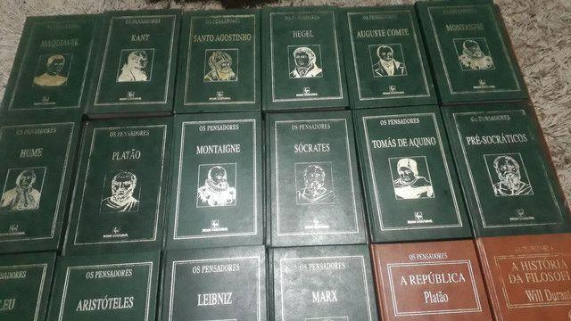 Livros os pensadores  - Foto 6
