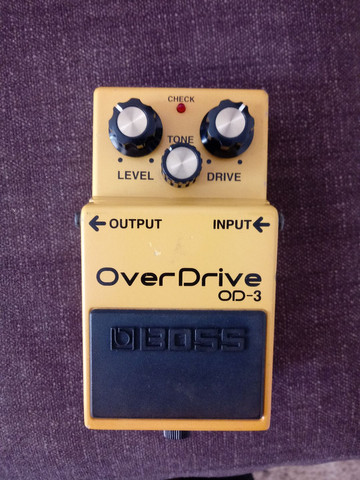 Pedal boss over drive