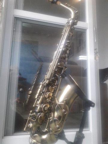 Sax alto waldmam begium, lindo novinho  - Foto 2