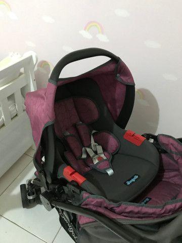 Carrinho + bebê conforto - Burigotto - Foto 6