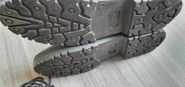 Coturno bota 43 seminova - zíper e cadarso - Foto 3